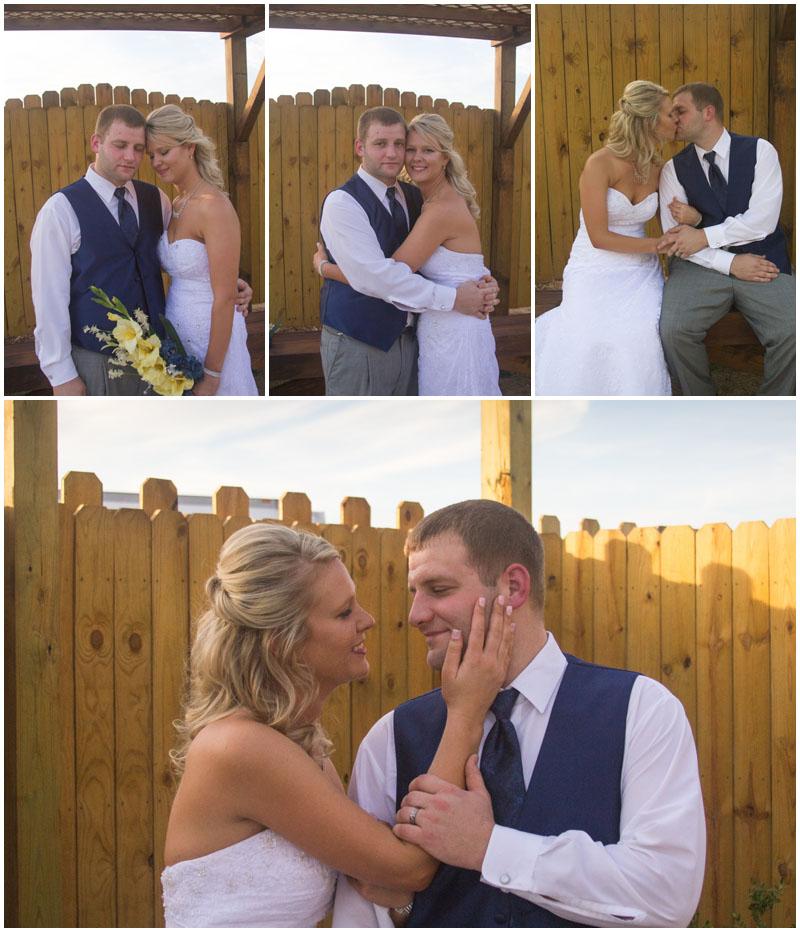 wedding. love. country. Castle Rock. St Joseph. Missouri. yellow flowers. burlap. friends. cabin. amazing. in love.